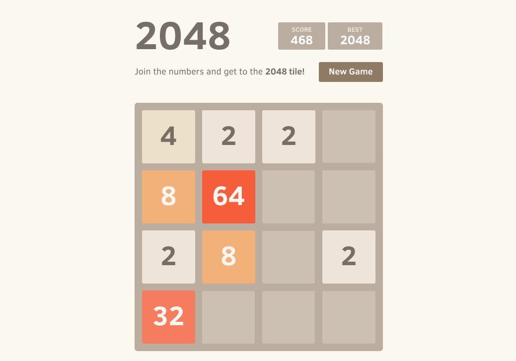 Photo of 2048 – Usor dar greu!