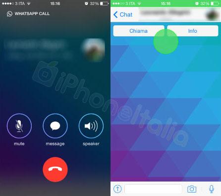 WhatsApp Voice Calling iOS