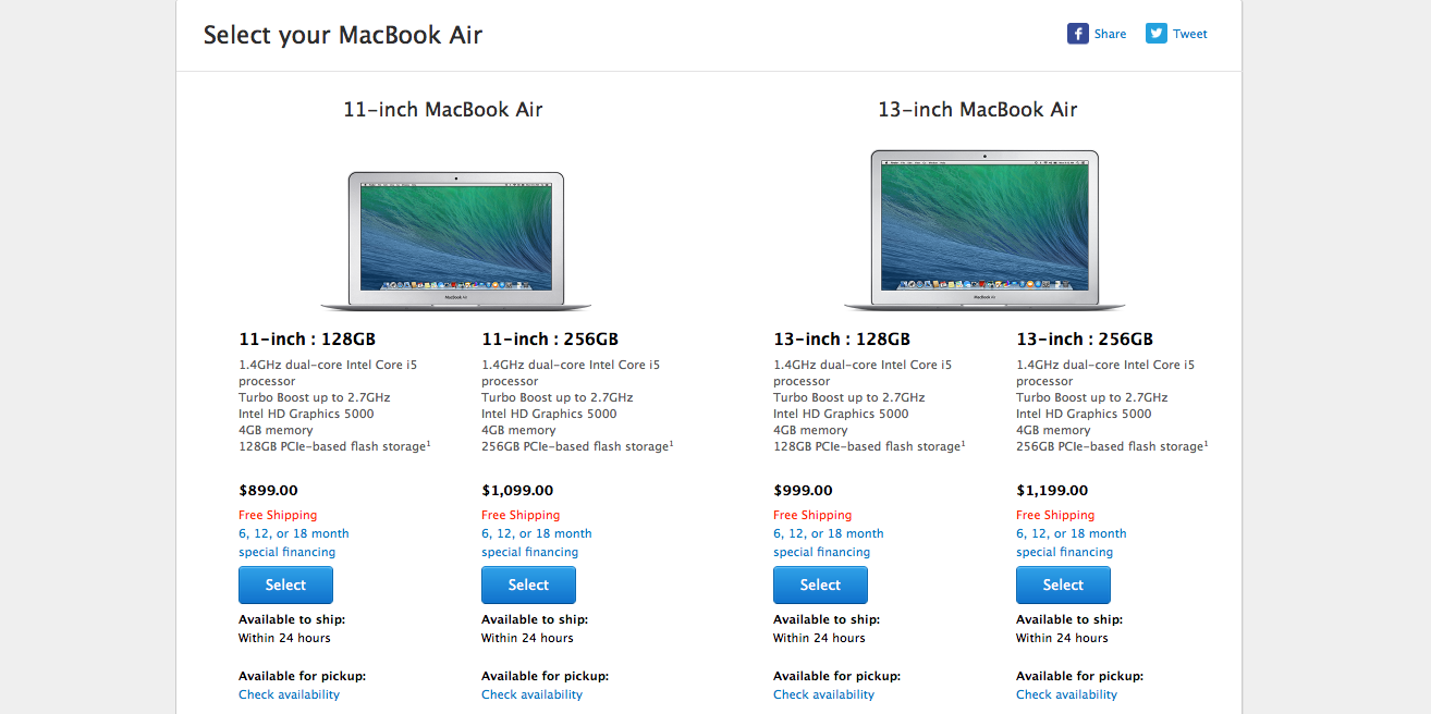 Photo of Apple a actualizat astazi linia de MacBook Air