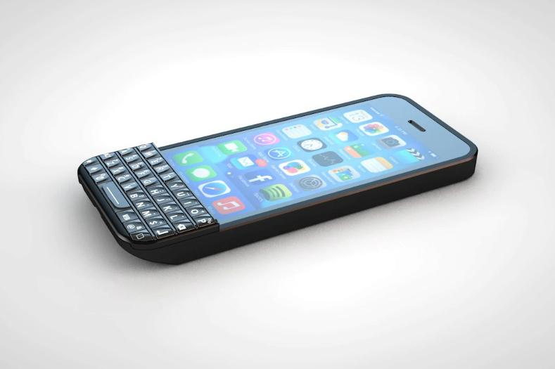 Photo of Typo: tastatura fizica in stil Blackberry pentru iPhone