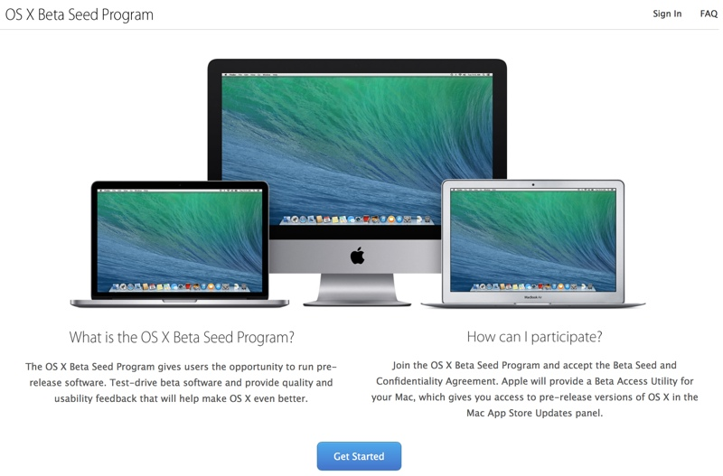 Photo of Versiuni Beta ale OS X, disponibile pentru oricine