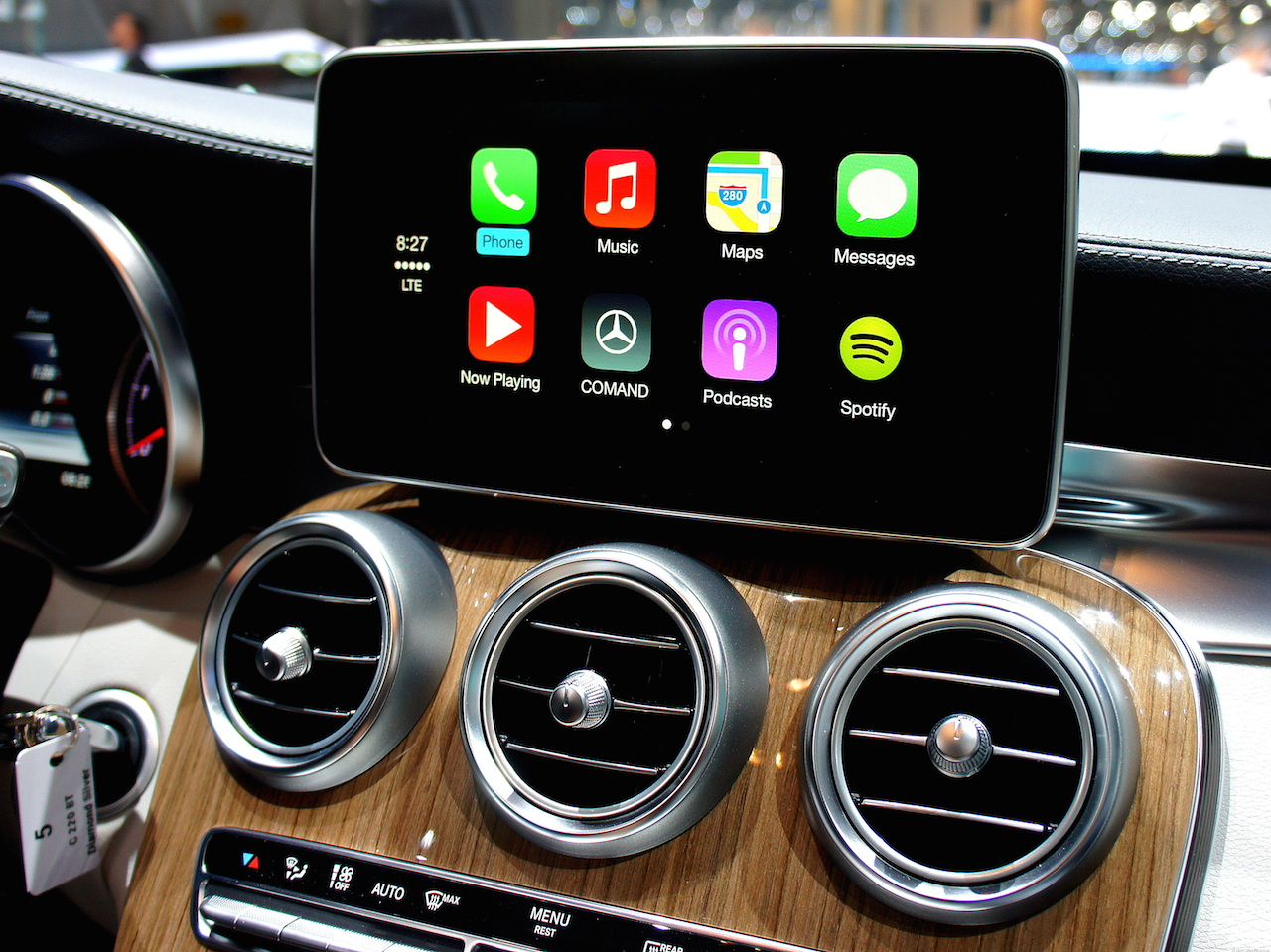 Photo of CarPlay de la Pioneer