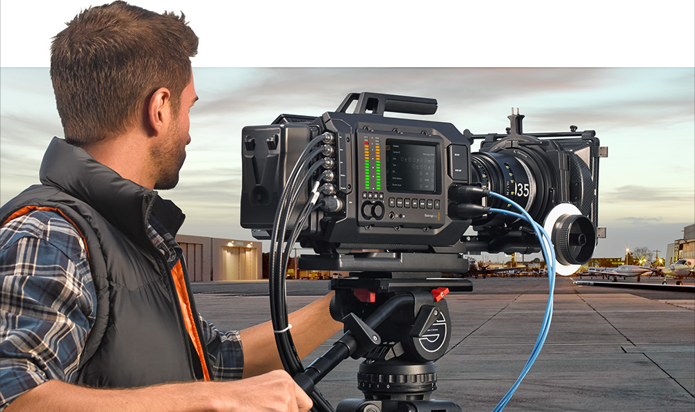 Photo of Blackmagic scoate o camera cat un urs!