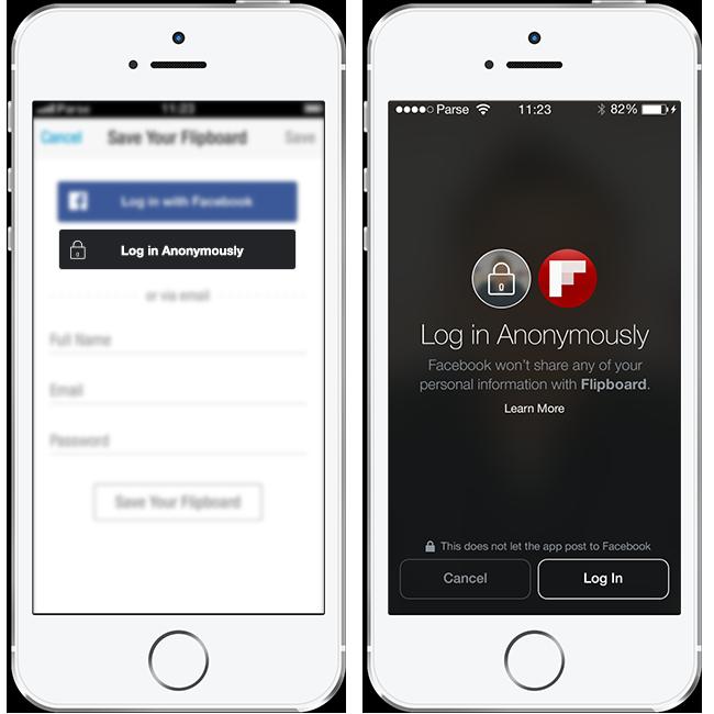 Photo of Logare ca Anonim in aplicatiile ce utilizeaza Facebook
