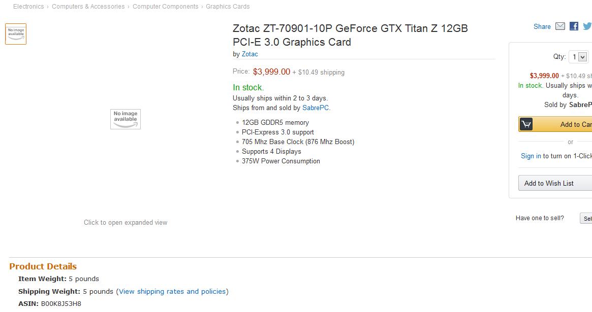 Photo of Nvidia GTX Titan Z nu mai costa 2999$!