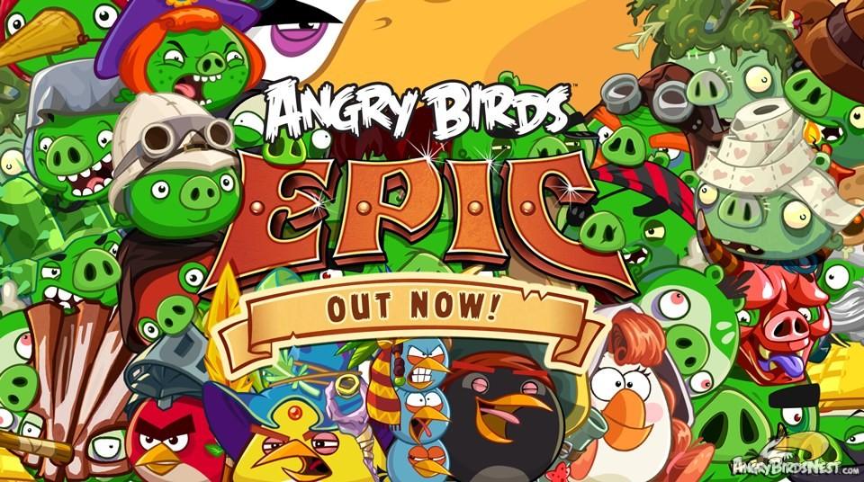 Photo of Angry Birds Epic – Un nou episod din saga Angry Birds!