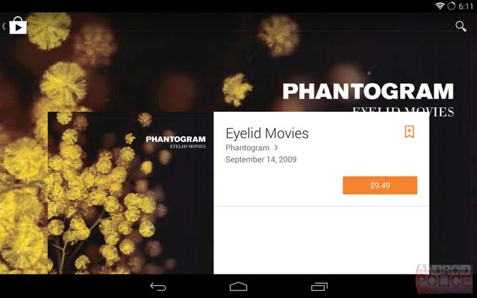 Google Play Store primeste un update vizual substantial