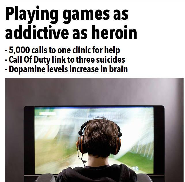 """Photo of """"SENZATIONAL"""": Jocuri egal heroina, potrivit celor de la The SUN!"""