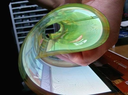Panouri OLED flexibile de 18 inci 1