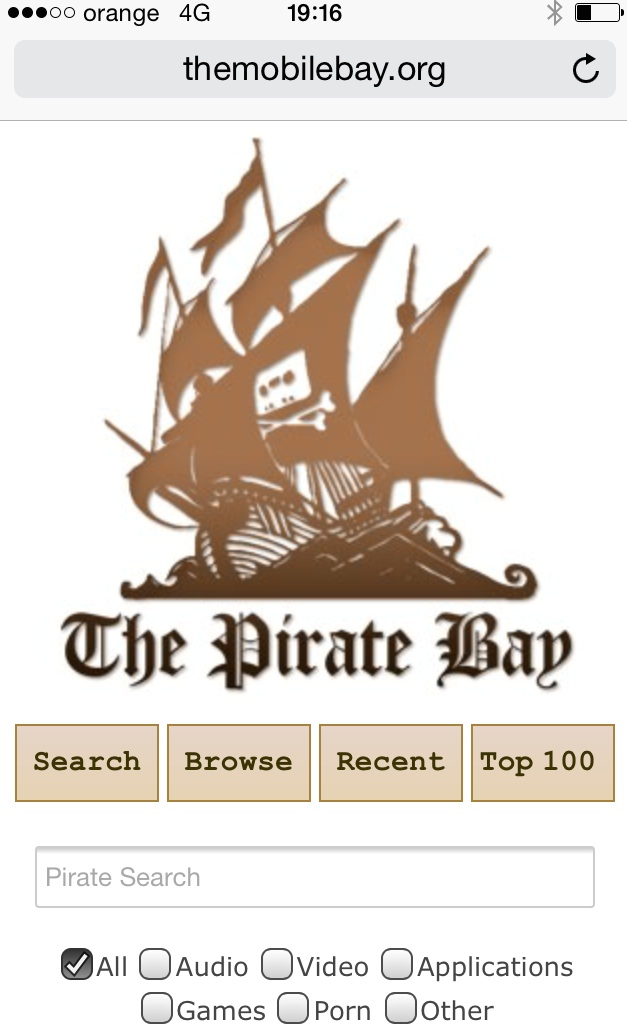 "Photo of The Pirate Bay este acum mai ""mobil"" ca niciodata!"