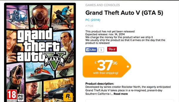 Noi detalii despre lansarea GTA 5