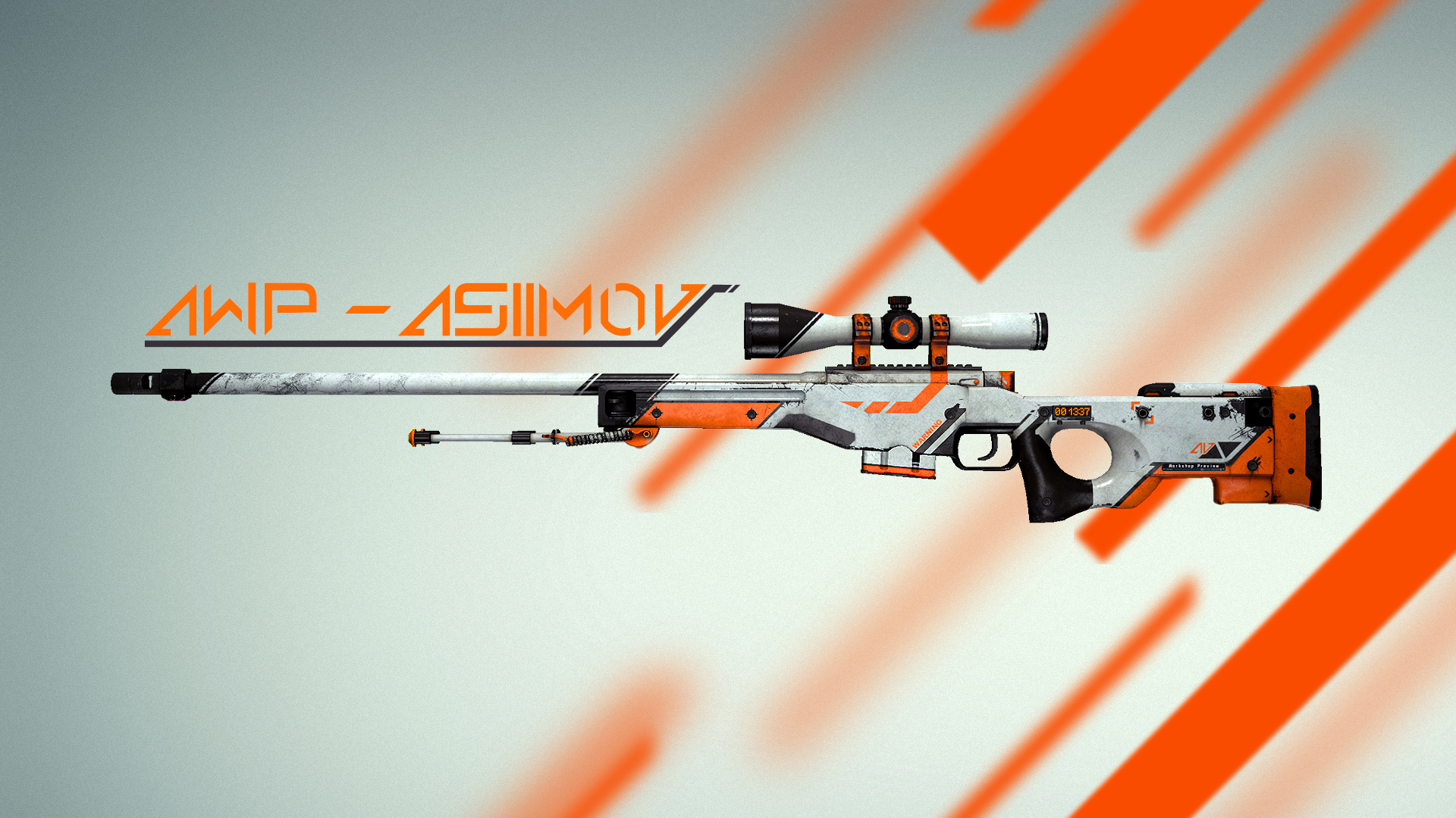 Photo of Counter Strike AWP Asiimov exista in realitate!!!