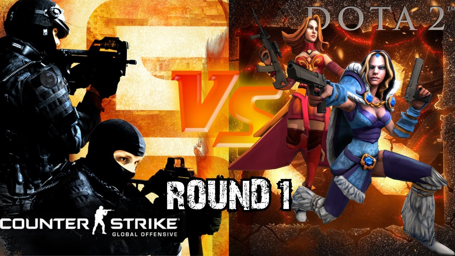 Photo of DOTA 2 vs CS GO, infruntarea secolului in forma video!