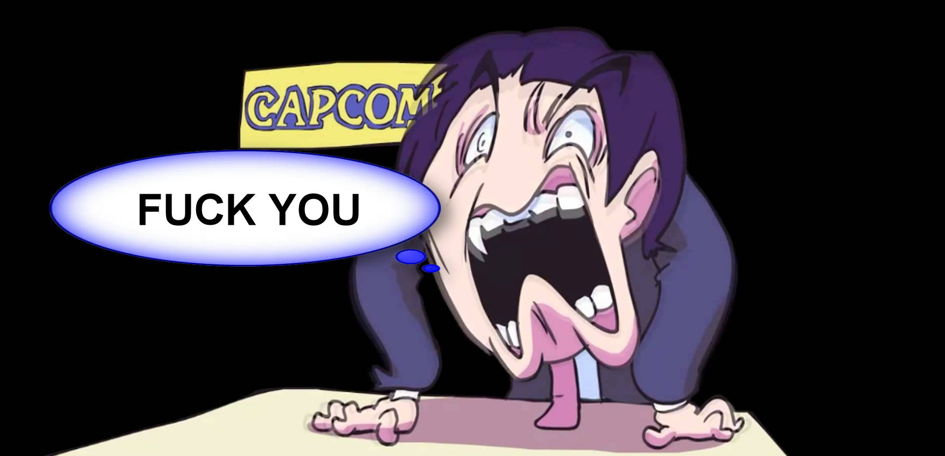 Photo of FUCK YOU, CAPCOM!!!