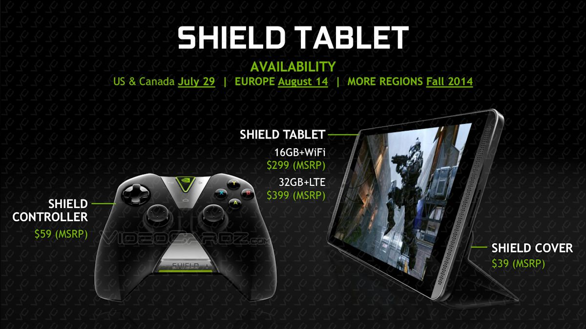 Photo of NVIDIA Tablet SHIELD intra pe piata din Europa