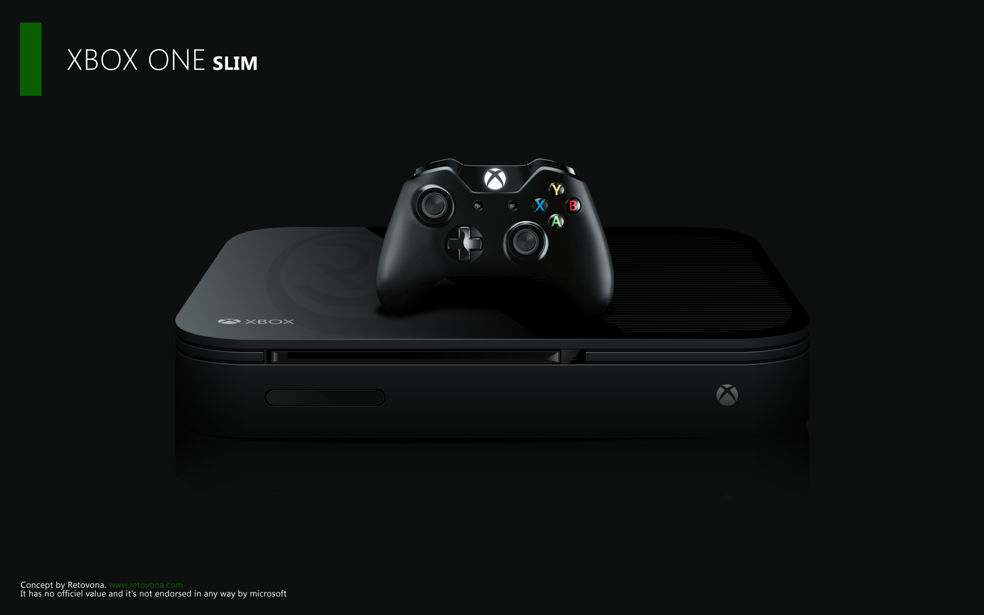 Photo of Xbox One Slim Concept Art, sau cat de frumos ar putea fi Xbox One la cura de slabire