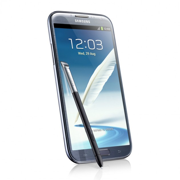 Samsung Galaxy Note 2 - Left Move