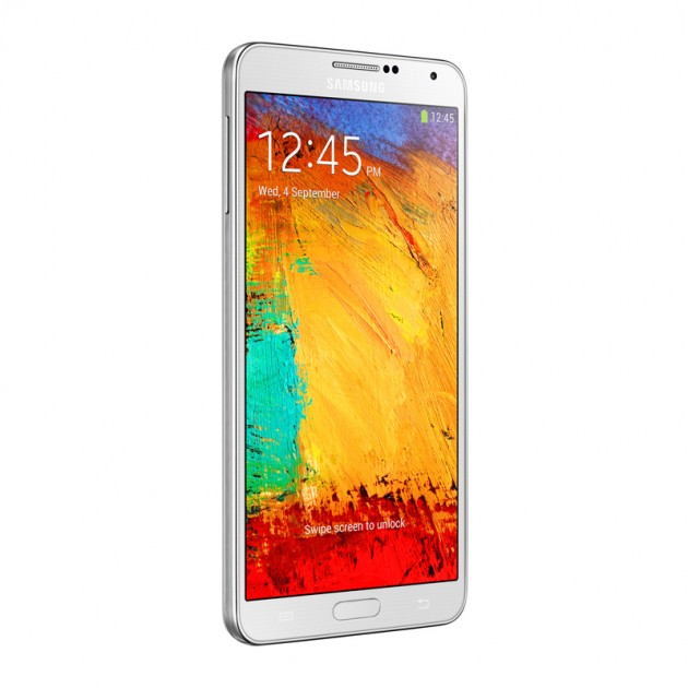 Samsung Galaxy Note 3 - Right Perspective