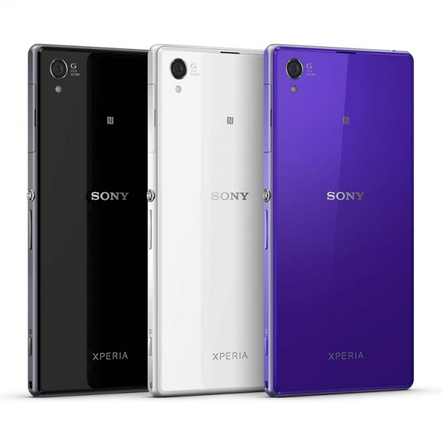 Sony Xperia Z1 - Colors