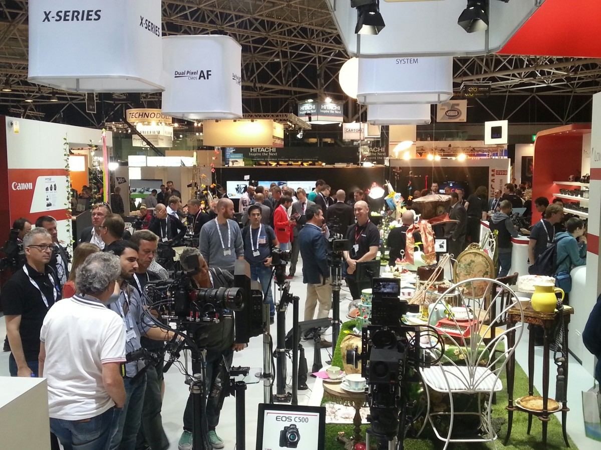 Photo of IBC 2014-Duelul gigantilor in echipamente video profesionale: Arri, Sony, Panasonic, Canon, Blackmagic, Red