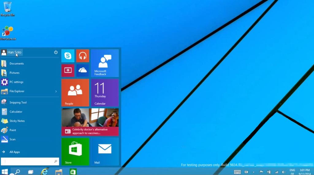 Photo of Preview Windows 9 scapat pe net!