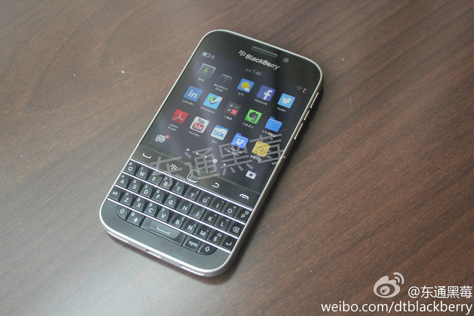 Photo of BlackBerry revine la un aspect traditional