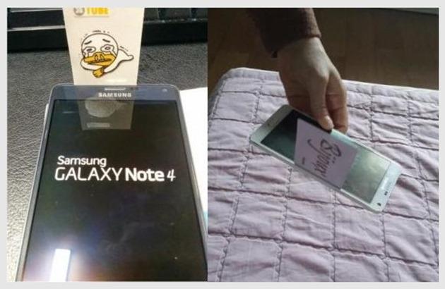 "Photo of Samsung Galaxy Note 4 are o ""mica"" problema de constructie!"