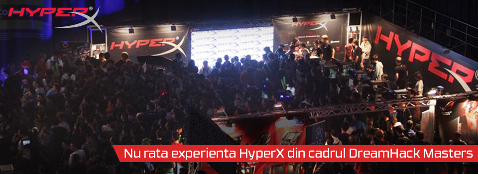 Photo of Concurs HyperX DreamHack Masters Bucharest 2014 – 31 Octombrie – 2 Noiembrie
