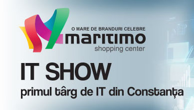 Photo of Mare targ mare de IT intre 10 si 12 Octombrie la mall-ul Maritimo din Constanta!