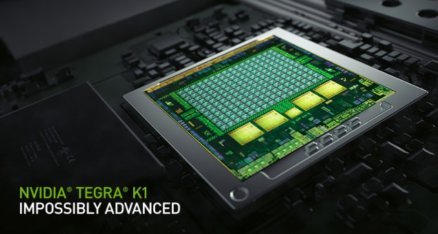 Photo of nVidia Tegra K1 bate Apple A8X in 3DMark