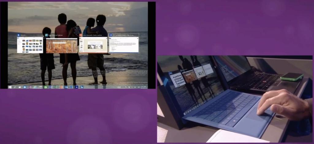 """Photo of Windows 10 """"imprumuta"""" gesturile multitouch din OS X"""