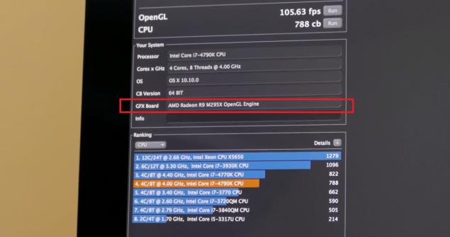 """Photo of AMD R9 M295X – """"Bestia"""" care insufleteste ecranul 5K al noului iMac"""