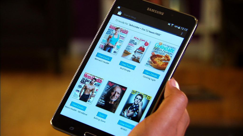 Photo of Samsung Galaxy Tab 4 in parteneriat cu Barnes & Noble