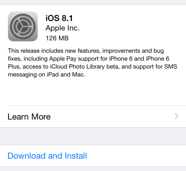 Photo of iOS 8.1 – Simti diferenta?