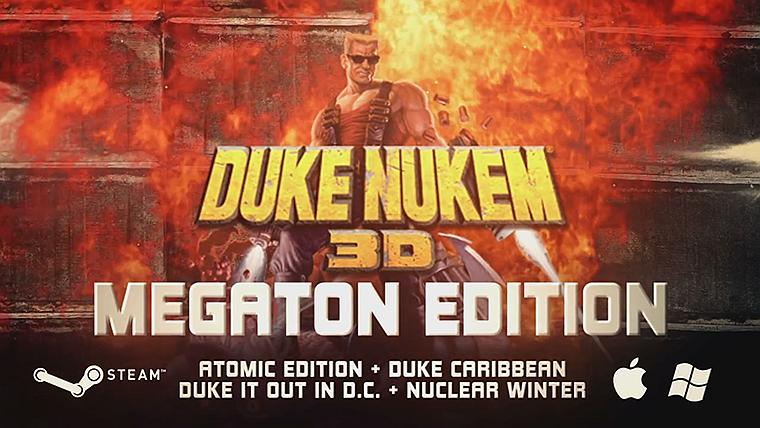 Photo of Duke Nukem 3D: Megaton Edition pe Vita si PS3 in Ianuarie 2015
