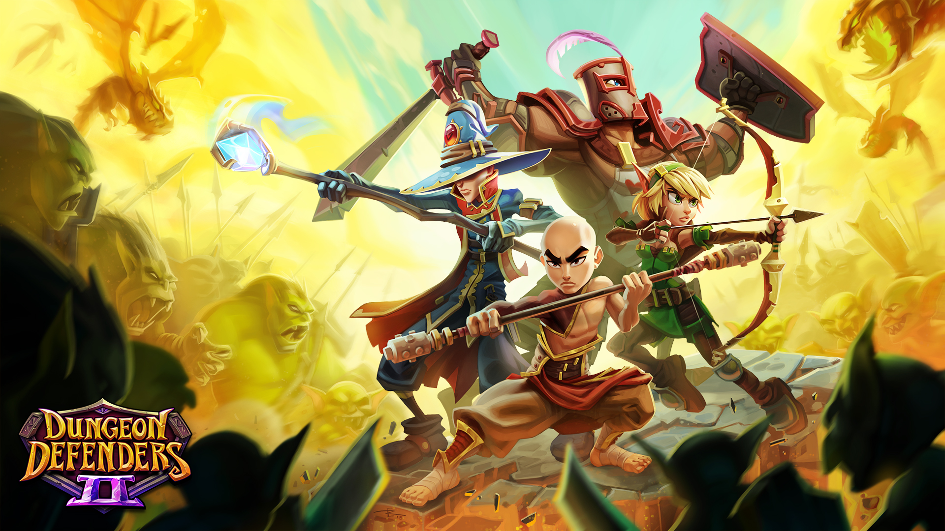 Photo of Dungeon Defenders 2 intra in early access luna viitoare
