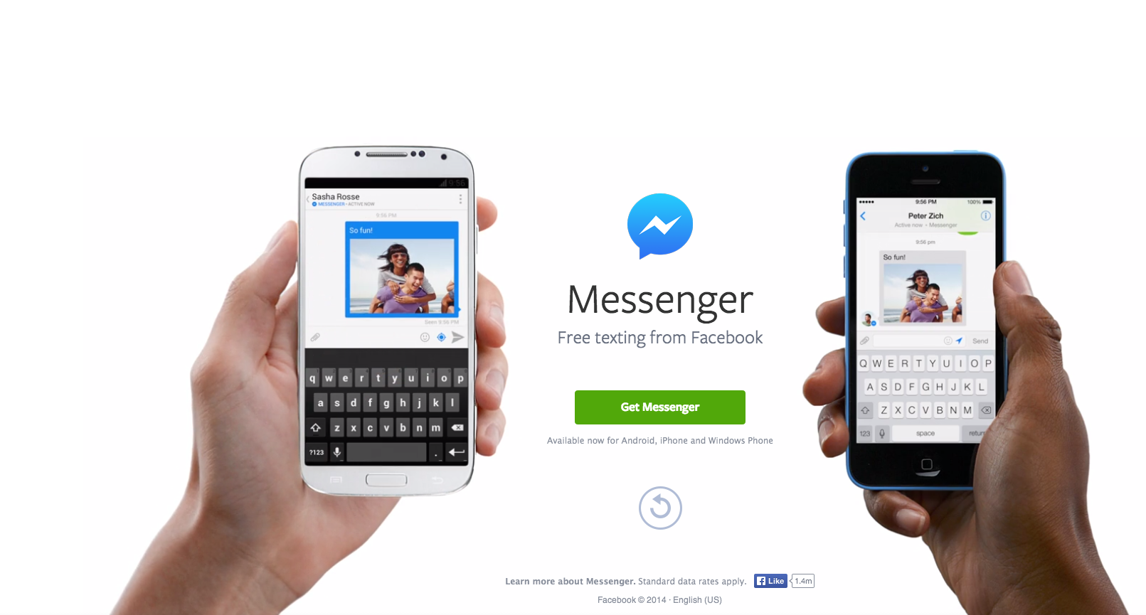 Photo of Mark Zuckerberg discuta direct despre Facebook Messenger