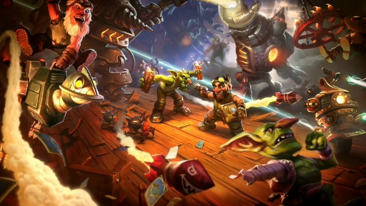 Photo of Expansion-ul Hearthstone Goblins vs Gnomes vine pe Android