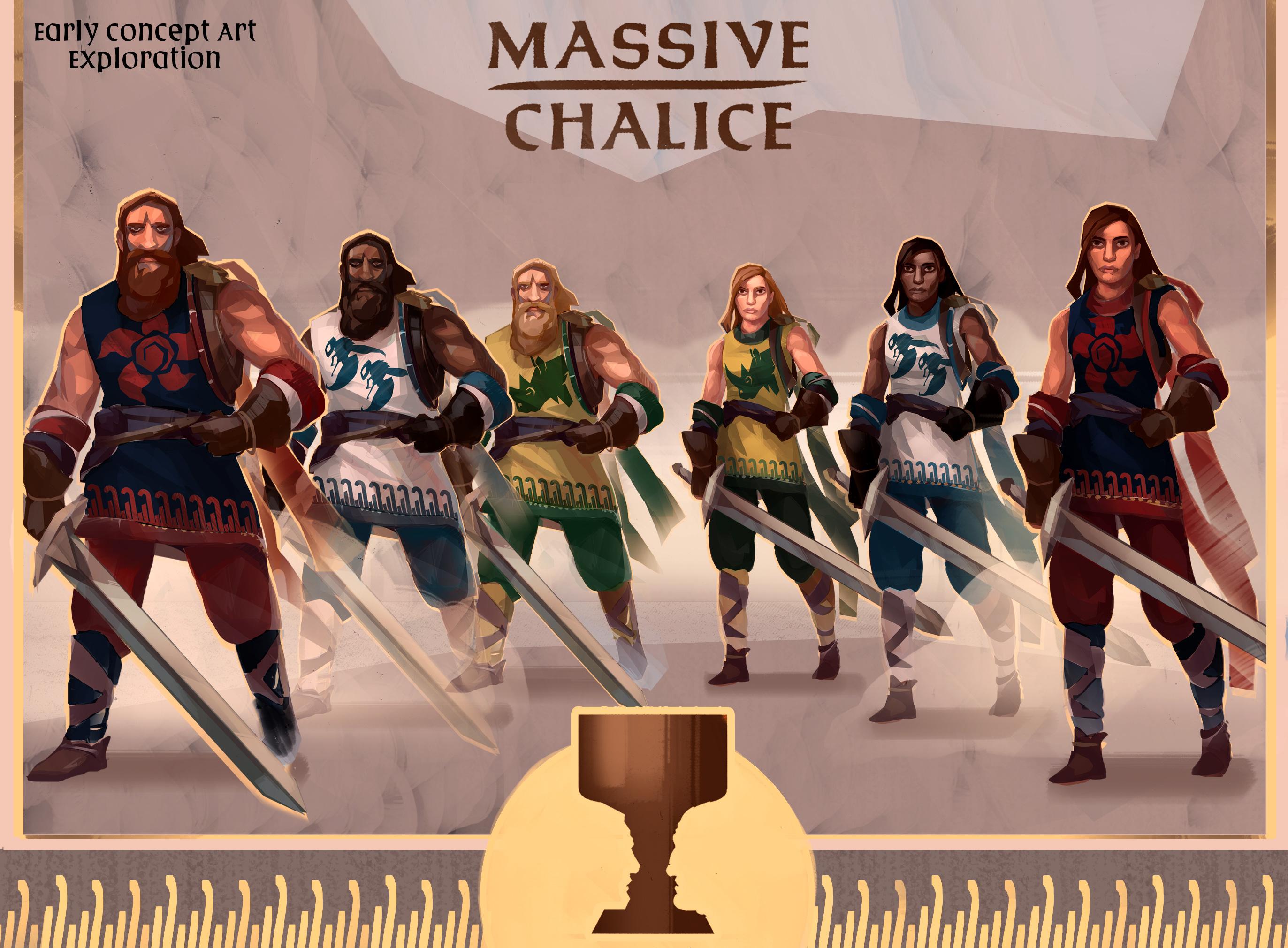 Photo of Massive Chalice, un joc de strategie tactică de la Costume Quest