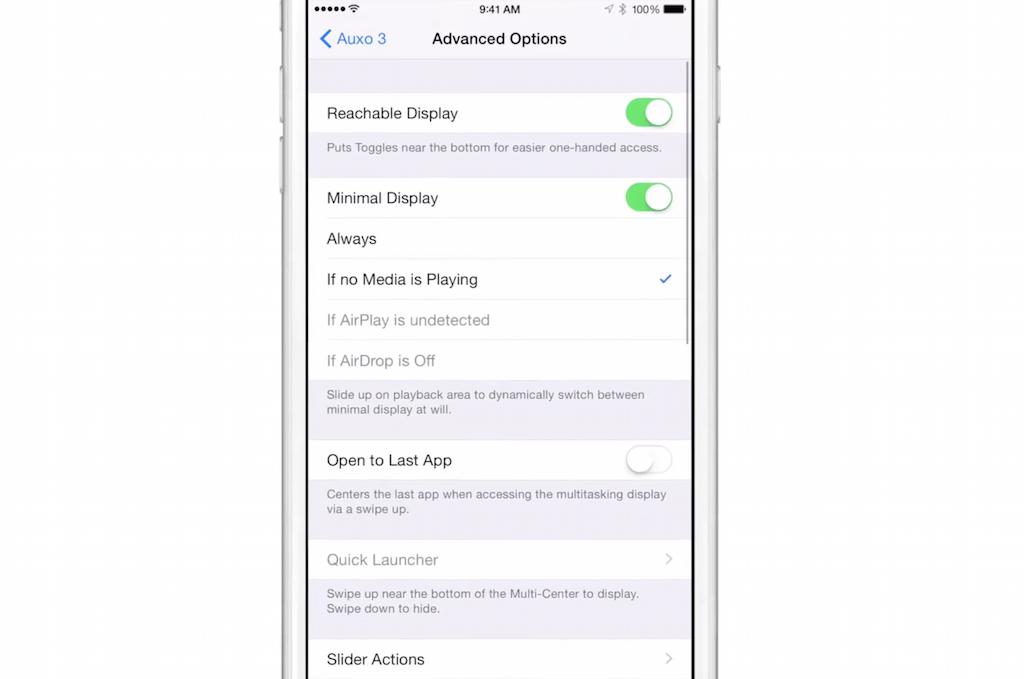 Photo of Auxo, acum compatibil cu iOS 8, ca aplicatie separata
