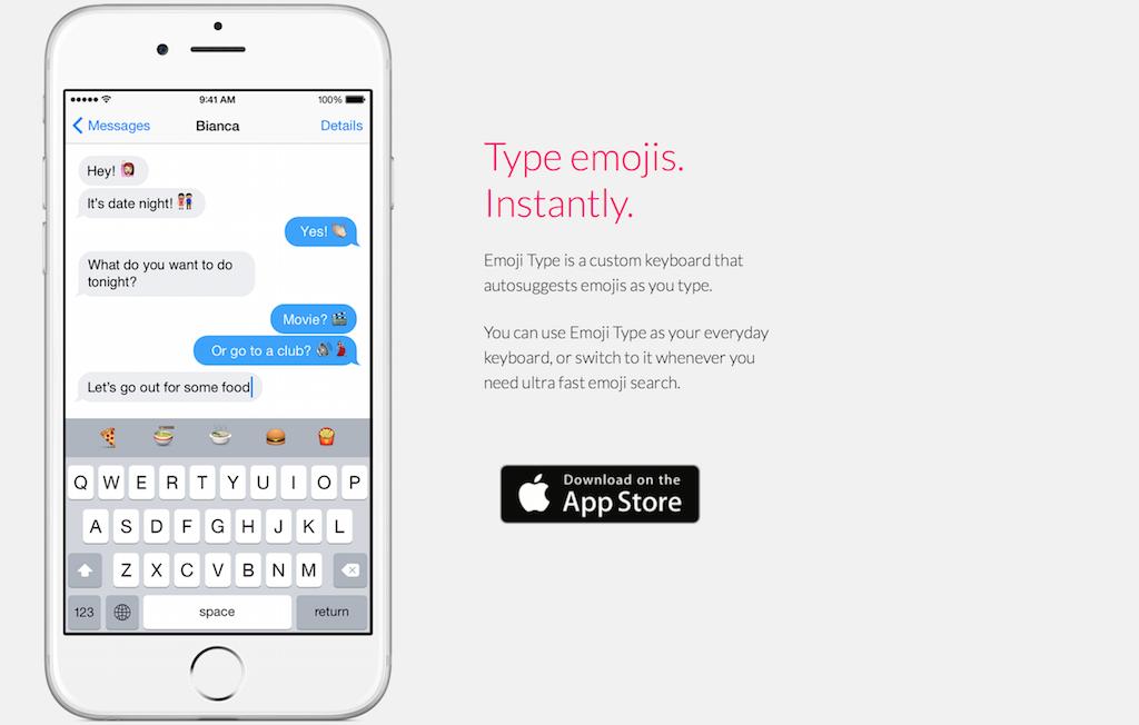 Photo of Emoji Type, o altfel de tastatura pentru iOS!