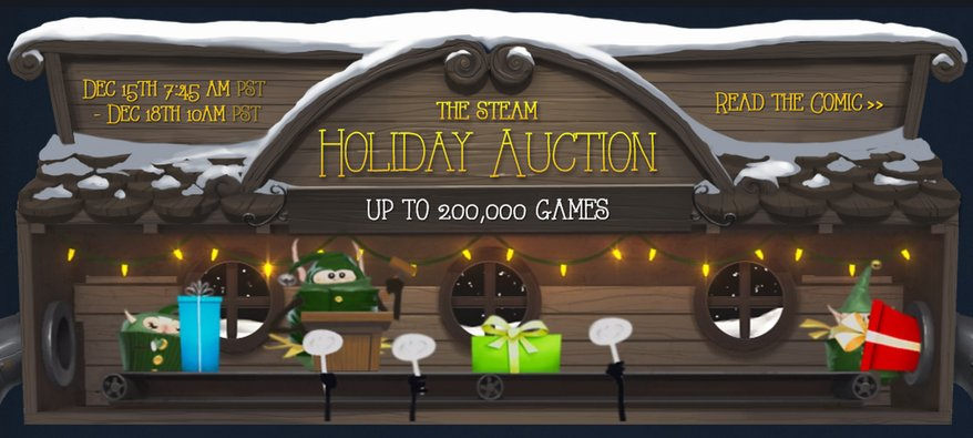 Photo of Steam Holiday Auction a avut un glitch!