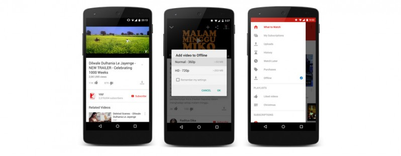 Photo of Offline Playback, o optiune asteptata a aplicatiei Youtube, este acum disponibila in cateva tari