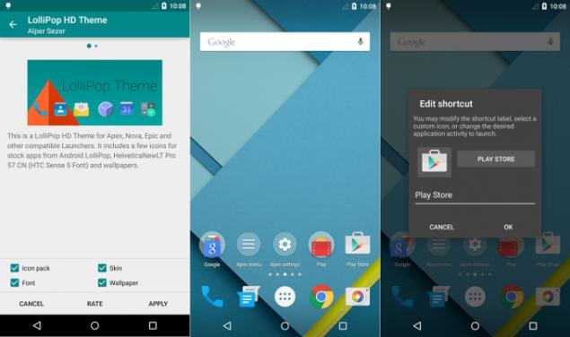 Photo of Actualizare Apex Launcher, cu aspect de Android 5.0
