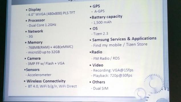 Photo of Samsung Z1, un nou smartphone cu sistem de operare Tizen