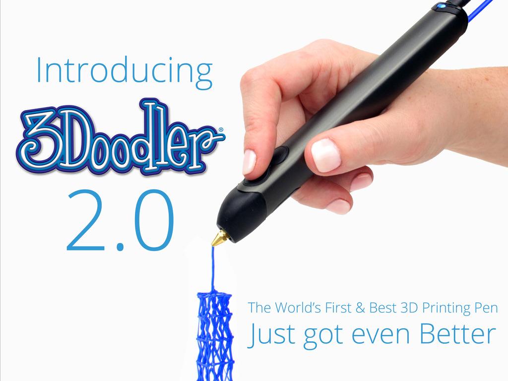 Photo of 3Doodler 2.0, creionul pentru desen in relief, la reducere pe Kickstarter