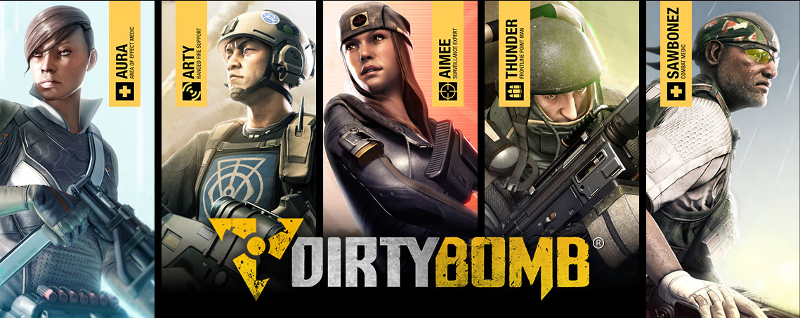 Photo of Dirty Bomb, gratuit pe Steam incepand din aceasta vara