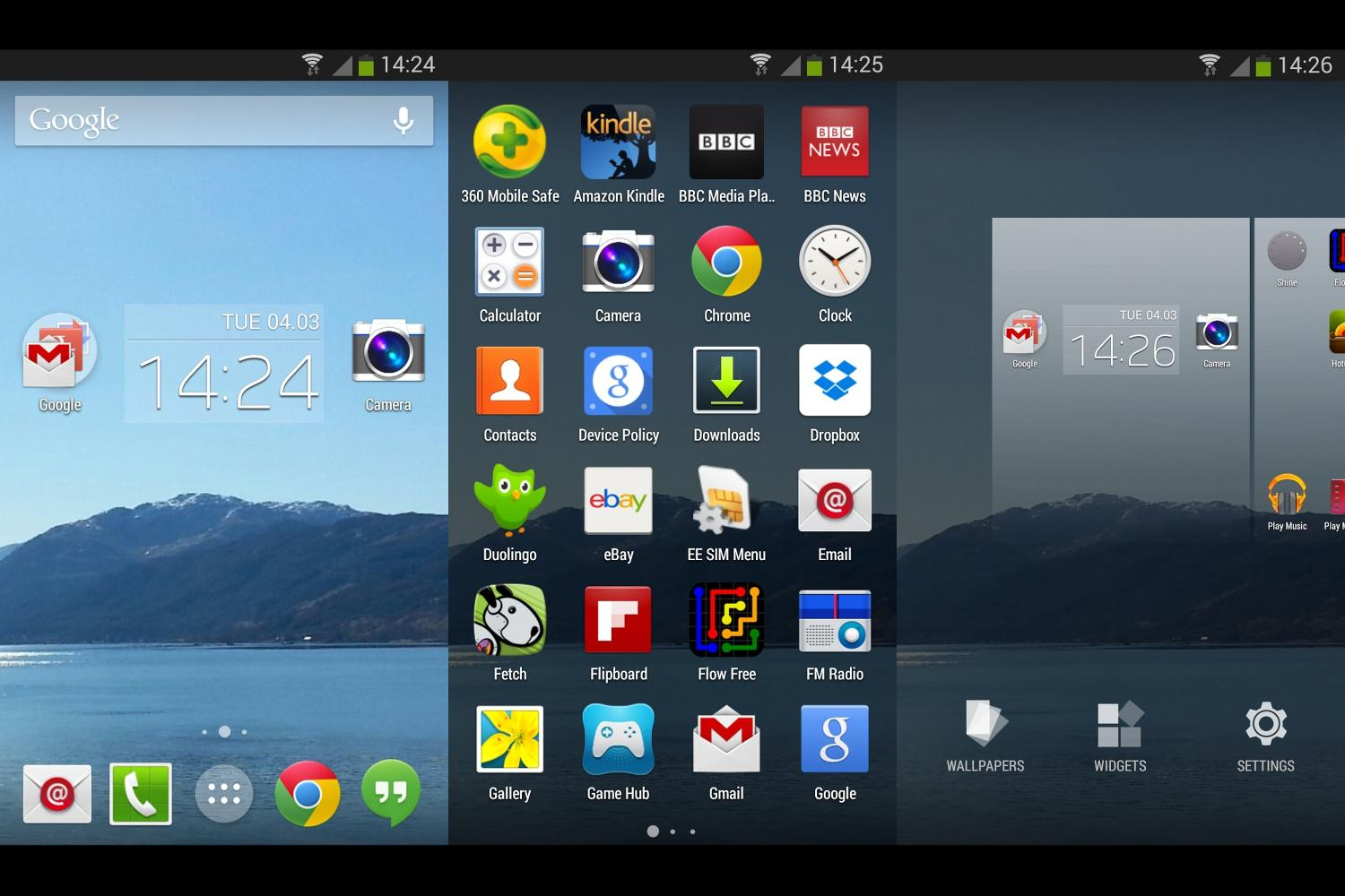 Photo of Google Now Launcher cu aspect de Lollipop