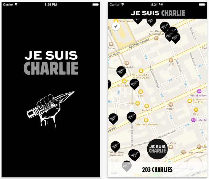 Photo of Aplicatia Je Suis Charlie, aprobata rapid chiar de catre Tim Cook