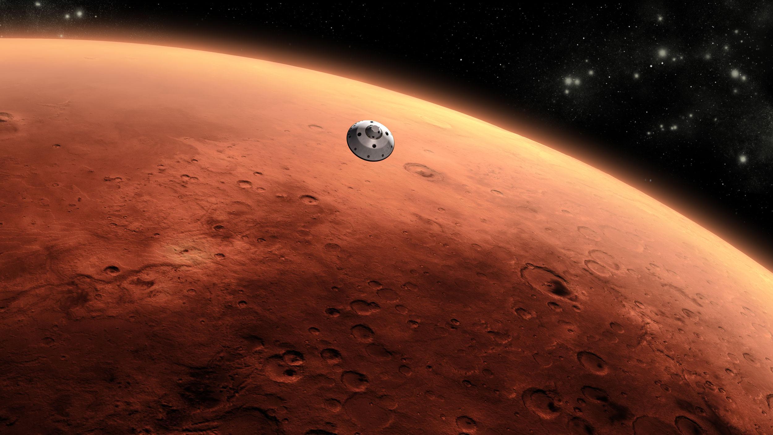 Photo of Un investitor american vrea Internet… pe Marte!